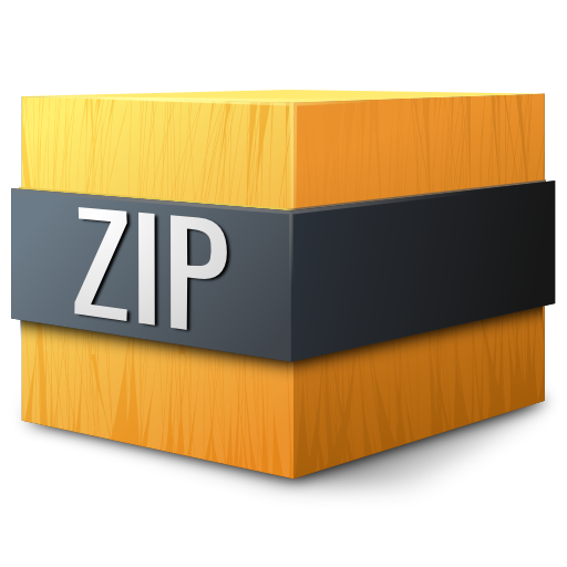 Mimetypes-zip-icon